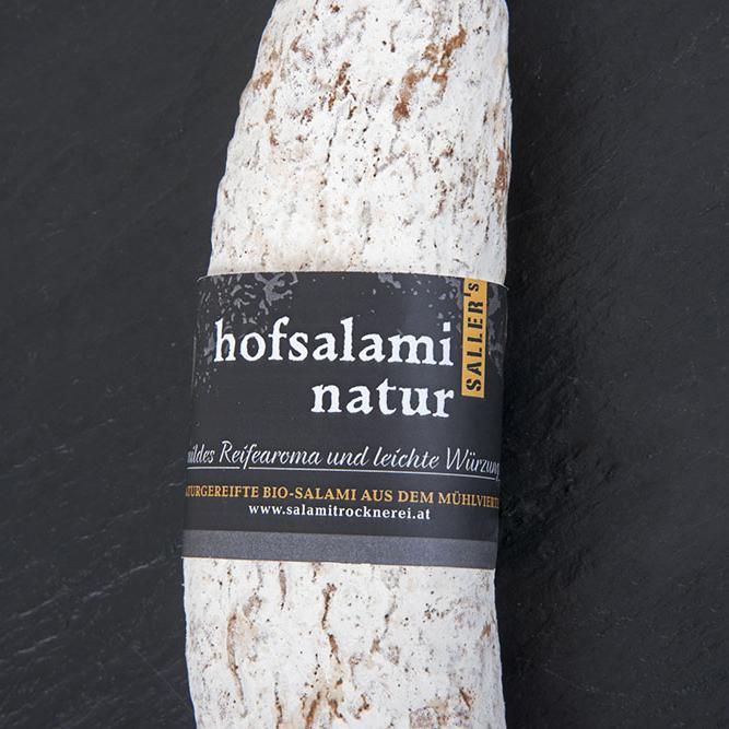 """Hofsalami """"Natur"""""""